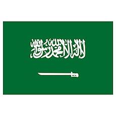 Flag of Saudi Arabia Poster