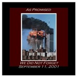 9 11 never forget Framed Prints