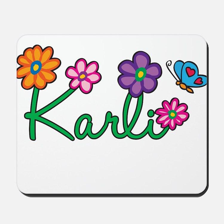 Karli Flowers Mousepad