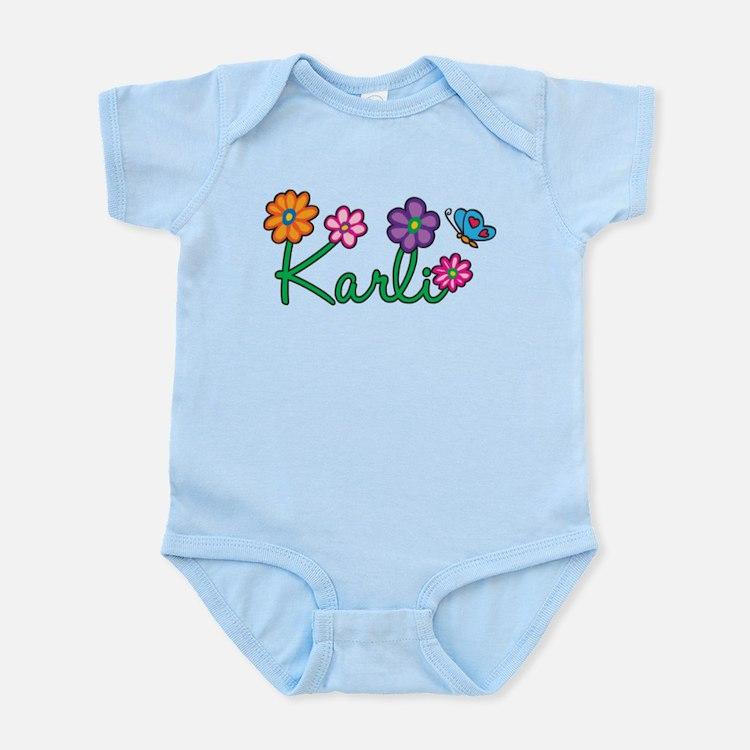 Karli Flowers Infant Bodysuit