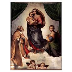 The Sistine Madonna Poster