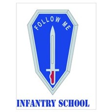 DUI - Infantry Center/School with Text Large Poste Poster