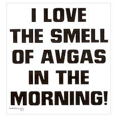 THE SMELL OF AV GAS Poster