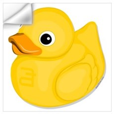Rubber Ducky, Wall Decal