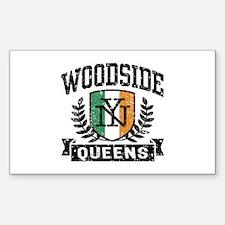 Woodside Queens NY Irish Decal