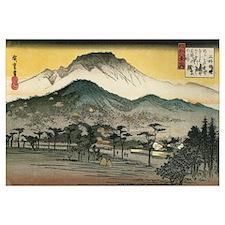 Utagawa Evening Temple