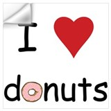 I love donuts Wall Decals