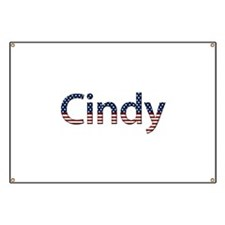 Cindy Stars and Stripes Banner