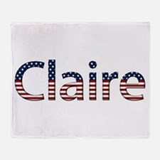 Claire Stars and Stripes Throw Blanket