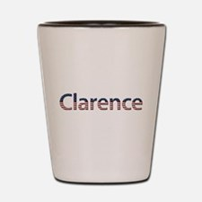Clarence Stars and Stripes Shot Glass