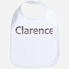 Clarence Stars and Stripes Bib