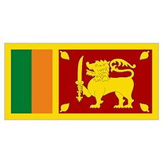 Flag Sri Lanka Poster