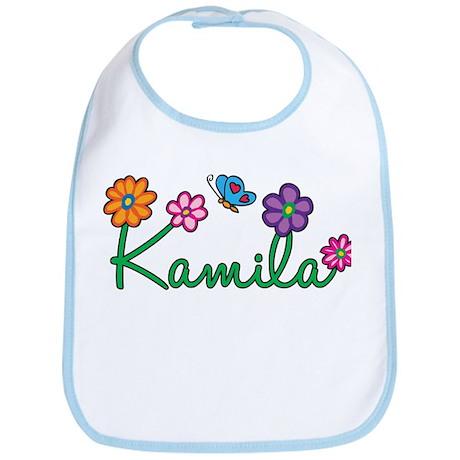 Kamila Flowers Bib