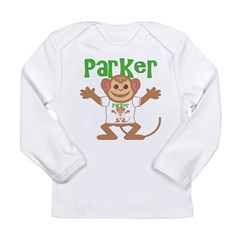 Little Monkey Parker Long Sleeve Infant T-Shirt