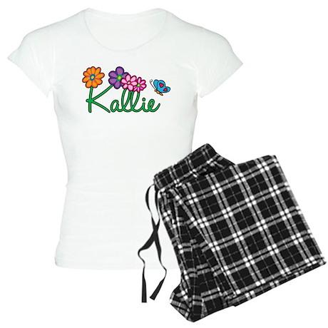 Kallie Flowers Women's Light Pajamas