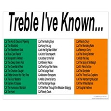 Treble I've Known Poster