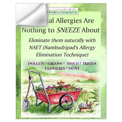 Large Seasonal Allergy Wall Decal