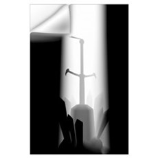Sword In The Stone Wall Decal