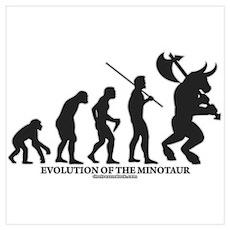 Evolution of the Minotaur Poster
