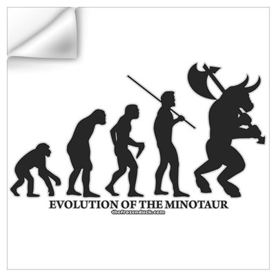 Evolution of the Minotaur Wall Decal