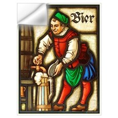 Bier Man Wall Decal
