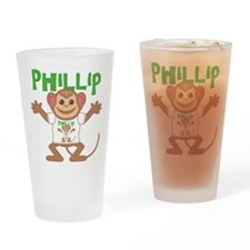 Little Monkey Phillip Drinking Glass