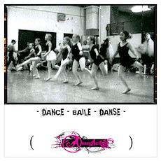 - dance - baile - danse Poster