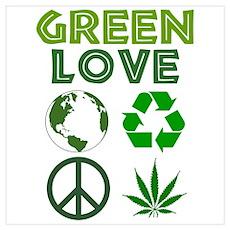 Green Love - MJ 1 Poster