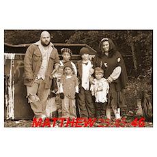 MATT 25:45-46 Poster