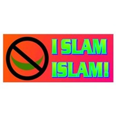 I SLAM ISLAM! Poster