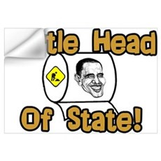 """Obama: Turtle Head Of State"" Wall Decal"