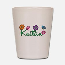 Kaitlin Flowers Shot Glass