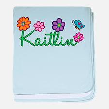 Kaitlin Flowers baby blanket