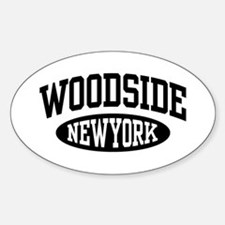 Woodside NY Sticker (Oval)