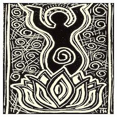 Devi Lotus 1 Poster