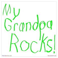 My Grandpa Rocks ! Poster