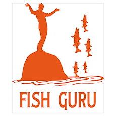 Fish Guru Poster