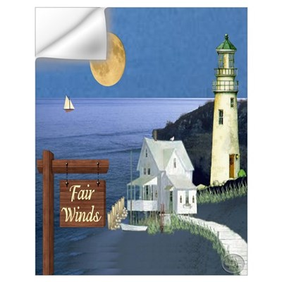 Fair Winds Cottage Un Wall Decal