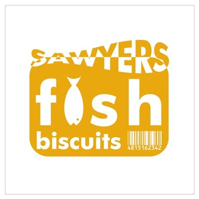 Sawyers Fish Bisquits Framed Print