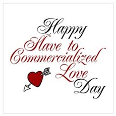 Slave to Commercialise Love Day Poster