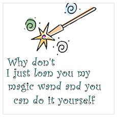 Magic Wand Poster