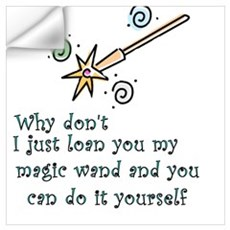 Magic Wand Wall Decal