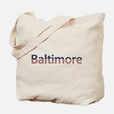 Baltimore Stars and Stripes Tote Bag