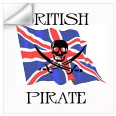 British Pirate Wall Decal