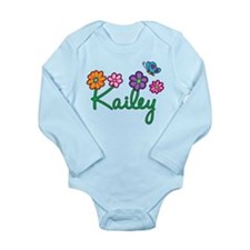 Kailey Flowers Long Sleeve Infant Bodysuit