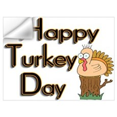 Happy Turkey Day Wall Decal