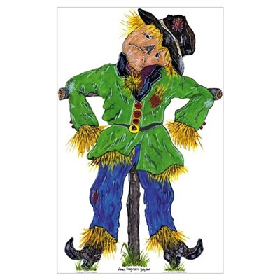 Scarecrow Canvas Art