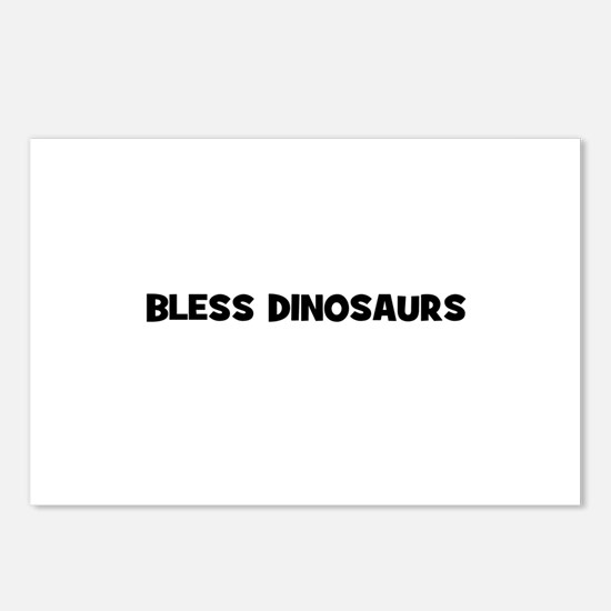 Bless Dinosaurs Postcards (Package of 8)