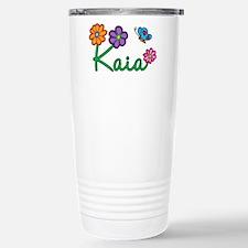 Kaia Flowers Travel Mug