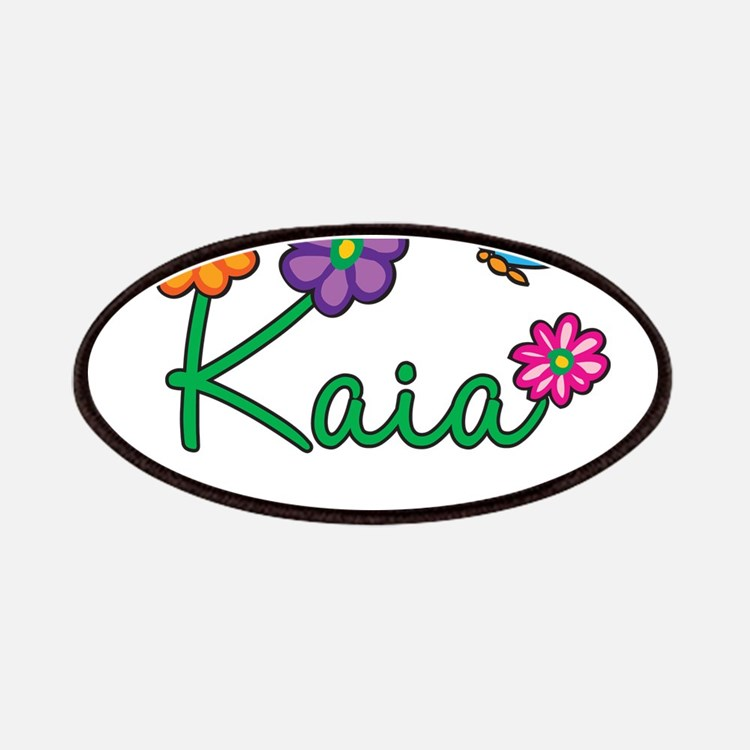Kaia Flowers Patches